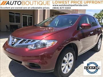 2012 Nissan Murano for sale at Auto Boutique Florida in Jacksonville FL