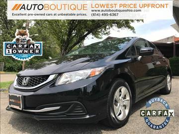 2014 Honda Civic for sale in Columbus, OH
