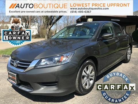 2015 Honda Accord for sale in Columbus, OH