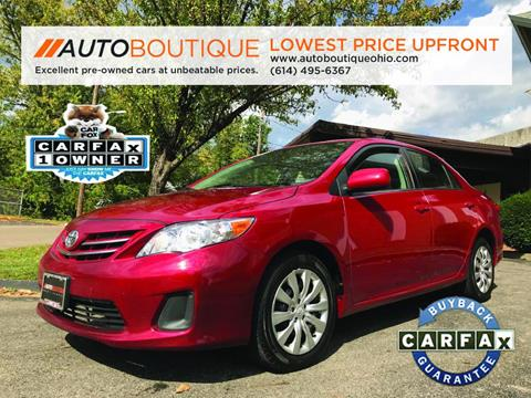 2013 Toyota Corolla for sale in Columbus, OH