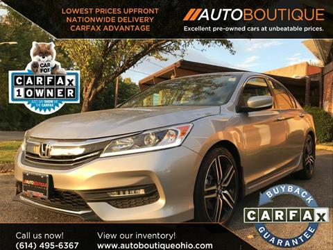 2016 Honda Accord for sale in Columbus, OH