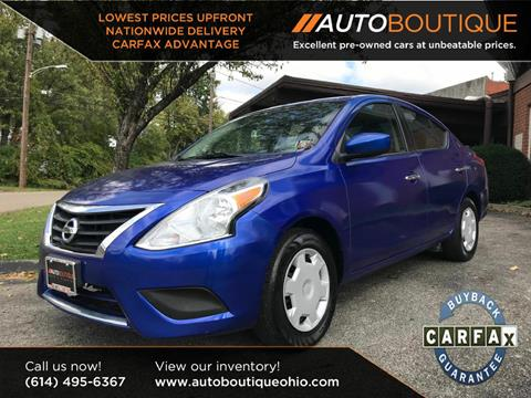 2015 Nissan Versa for sale in Columbus, OH