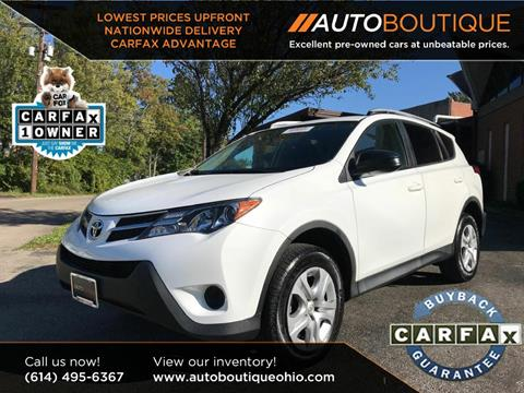 2015 Toyota RAV4 for sale at Auto Boutique in Columbus OH