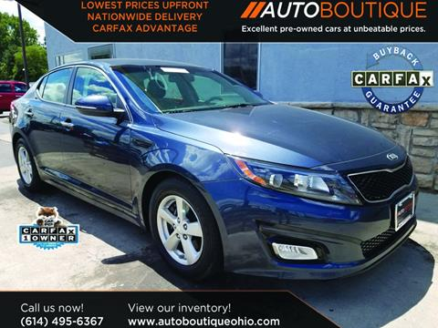 2015 Kia Optima for sale in Columbus, OH