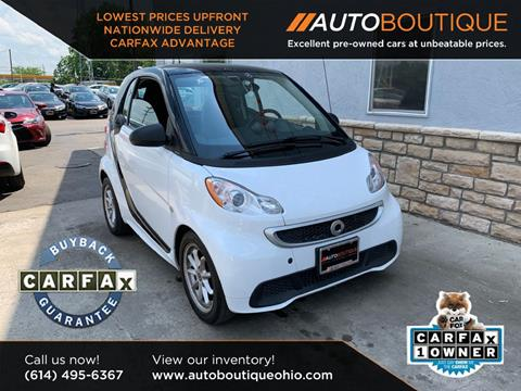 2016 Smart fortwo electric drive for sale in Columbus, OH