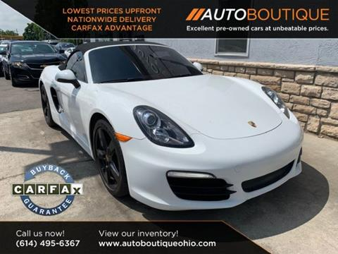 2014 Porsche Boxster for sale in Columbus, OH