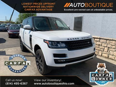 2013 Land Rover Range Rover for sale in Columbus, OH