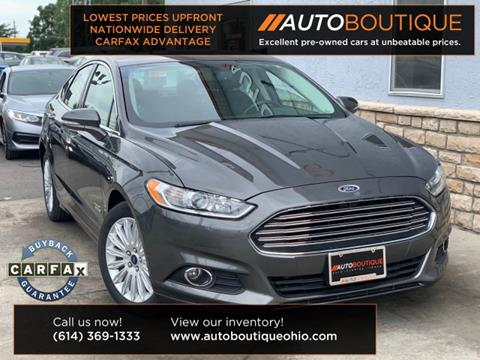 2016 Ford Fusion Energi for sale in Columbus, OH