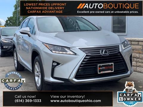 2016 Lexus RX 350 for sale in Columbus, OH