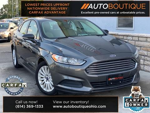 2016 Ford Fusion Hybrid for sale in Columbus, OH