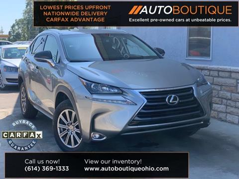2015 Lexus NX 200t for sale in Columbus, OH