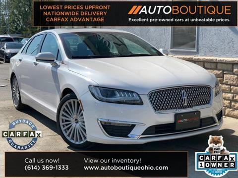 2017 Lincoln MKZ Hybrid for sale in Columbus, OH