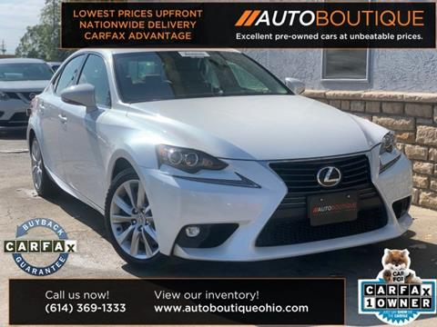 2016 Lexus IS 300 for sale in Columbus, OH