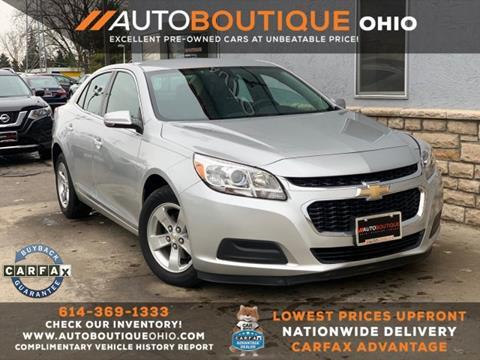 2015 Chevrolet Malibu for sale in Columbus, OH
