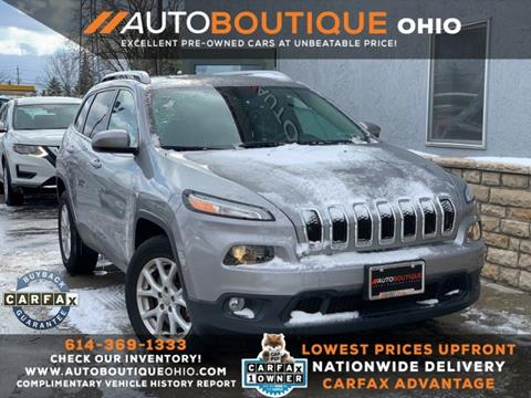 2016 Jeep Cherokee for sale in Columbus, OH