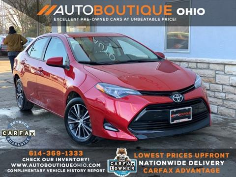 2017 Toyota Corolla for sale in Columbus, OH