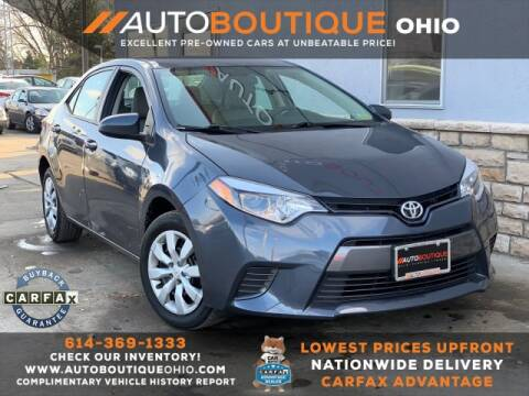 2016 Toyota Corolla for sale in Columbus, OH