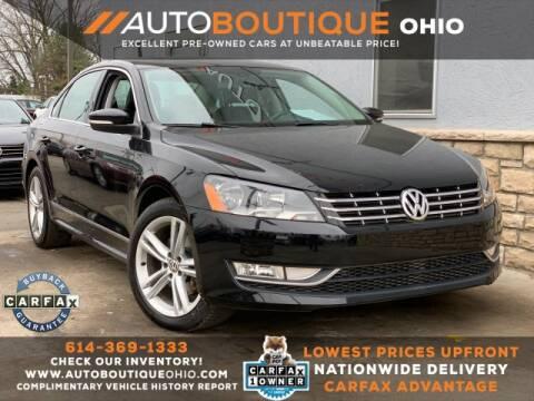 2013 Volkswagen Passat for sale in Columbus, OH