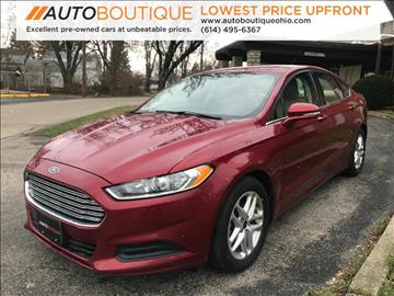 2013 Ford Fusion for sale in Columbus, OH