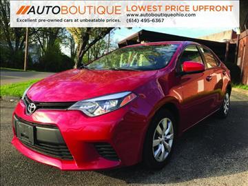 2014 Toyota Corolla for sale in Columbus, OH