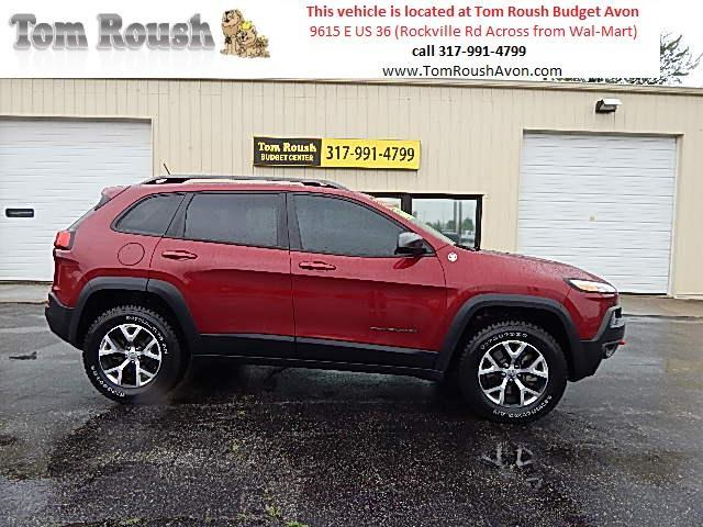 2014 Jeep Cherokee for sale at Tom Roush Budget Center Avon in Avon IN