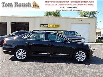 2013 Volkswagen Passat for sale at Tom Roush Budget Center Avon in Avon IN