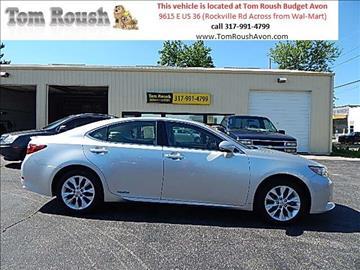 2013 Lexus ES 300h for sale at Tom Roush Budget Center Avon in Avon IN