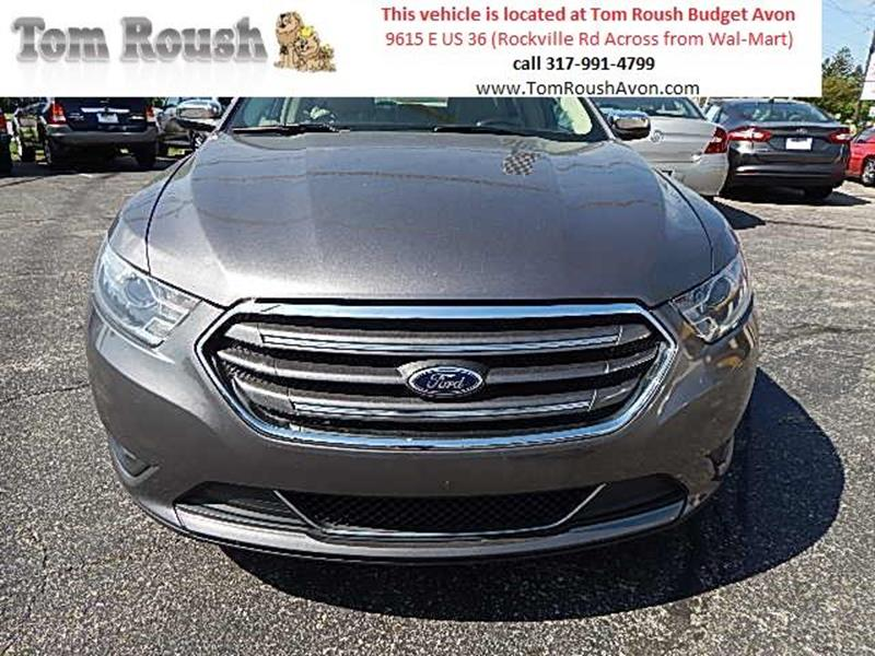 2013 Ford Taurus for sale at Tom Roush Budget Center Avon in Avon IN