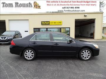2007 Honda Accord for sale at Tom Roush Budget Center Avon in Avon IN