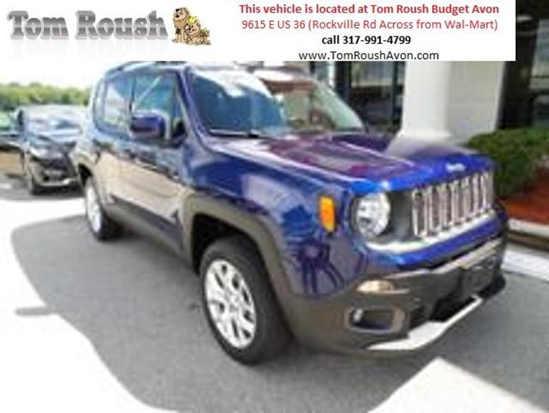2017 Jeep Renegade for sale at Tom Roush Budget Center Avon in Avon IN