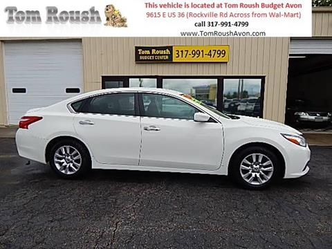 2016 Nissan Altima for sale at Tom Roush Budget Center Avon in Avon IN