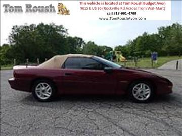 1994 Chevrolet Camaro for sale at Tom Roush Budget Center Avon in Avon IN
