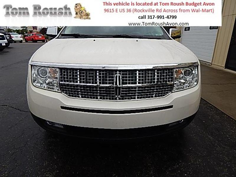 2008 Lincoln MKX for sale at Tom Roush Budget Center Avon in Avon IN