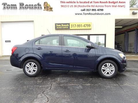 2016 Chevrolet Sonic for sale at Tom Roush Budget Center Avon in Avon IN