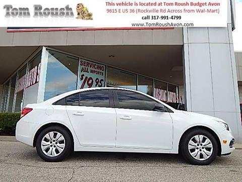 2016 Chevrolet Cruze Limited for sale at Tom Roush Budget Center Avon in Avon IN
