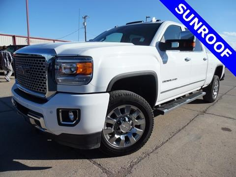 2016 GMC Sierra 2500HD for sale in Pecos TX