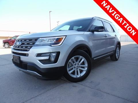 2016 Ford Explorer for sale in Pecos, TX