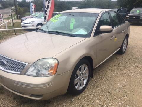 2007 Ford Five Hundred for sale in Hamilton TX