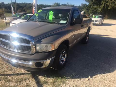 2002 Dodge Ram Pickup 1500 for sale in Hamilton, TX