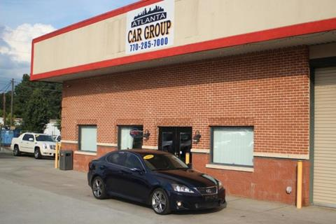 2011 Lexus IS 250 for sale at Atlanta Car Group in Doraville GA