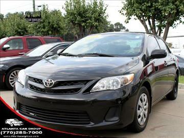 2013 Toyota Corolla for sale at Atlanta Car Group in Doraville GA