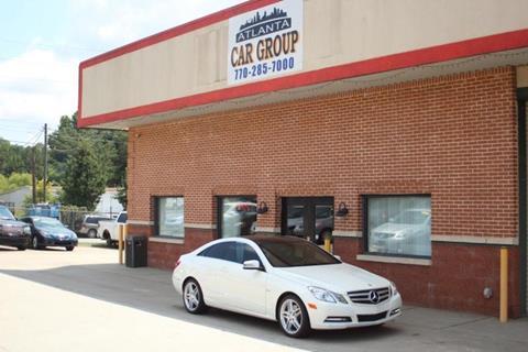 2012 Mercedes-Benz E-Class for sale at Atlanta Car Group in Doraville GA
