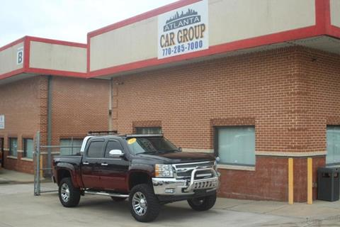 2012 Chevrolet Silverado 1500 for sale at Atlanta Car Group in Doraville GA