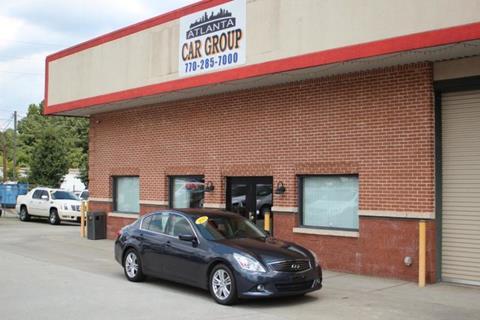2013 Infiniti G37 Sedan for sale at Atlanta Car Group in Doraville GA