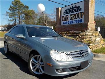 2006 Mercedes-Benz CLK for sale at Atlanta Car Group in Doraville GA