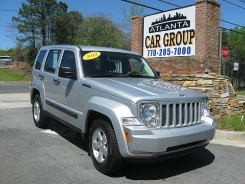 2012 Jeep Liberty for sale at Atlanta Car Group in Doraville GA