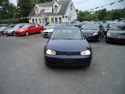 2002 Volkswagen Golf for sale in Gaithersburg, MD