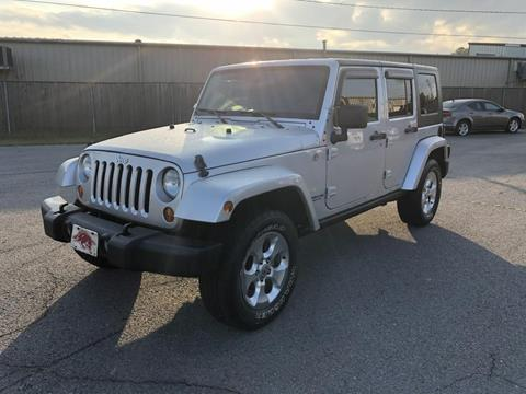 2007 Jeep Wrangler Unlimited for sale in Sherwood, AR