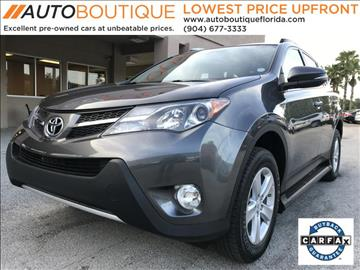 2013 Toyota RAV4 for sale in Jacksonville, FL