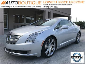 2014 Cadillac ELR for sale in Jacksonville, FL